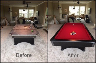 expert pool table recovering in The Dalles content img3